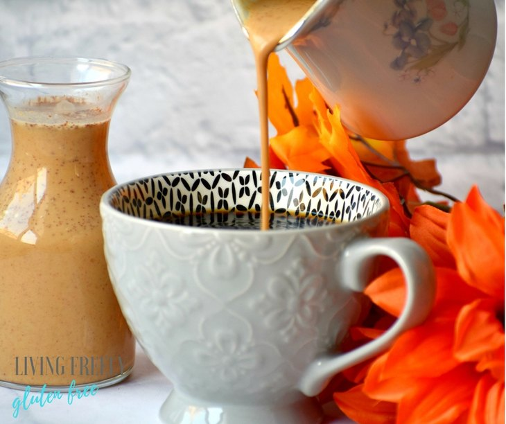 Vegan Pumpkin Spice Coffee Creamer
