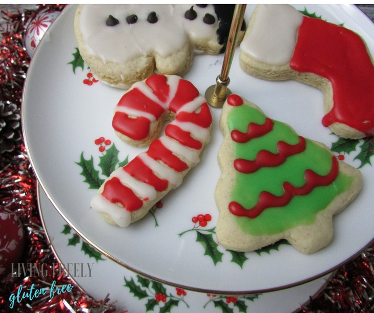 Christmas Sugar Cookies.Gluten Free Dairy Free Sugar Cookies