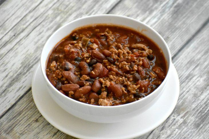 chili recipe in a bowl