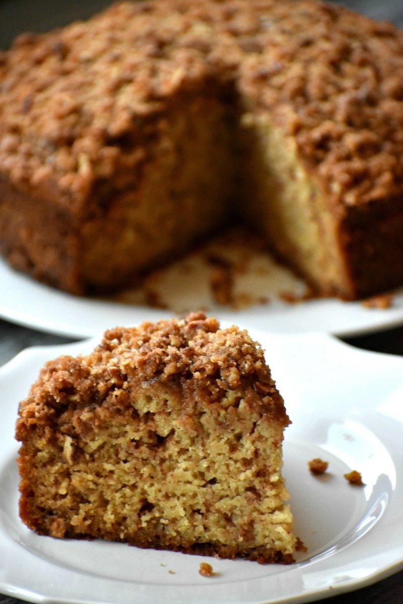 Moist Gluten Free Coffee Cake