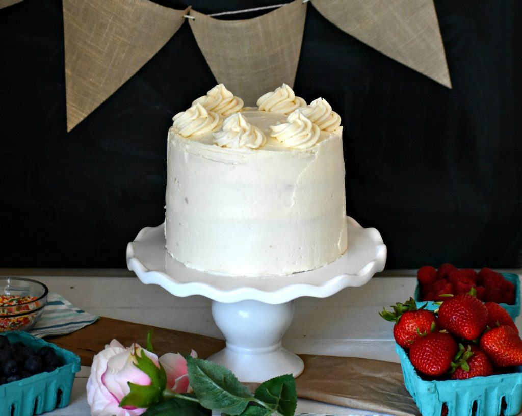Easy Gluten And Dairy Free Vanilla Cake The Best Ever