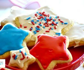 4th Of July Cookies Gluten Free Dairy Free Living Freely Gluten Free