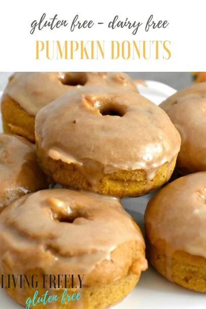 Pumpkin Gluten Free Baked Donuts