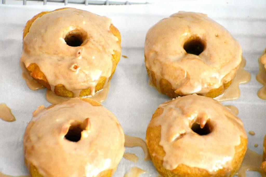 Gluten Fre Baked Pumpkin Donuts