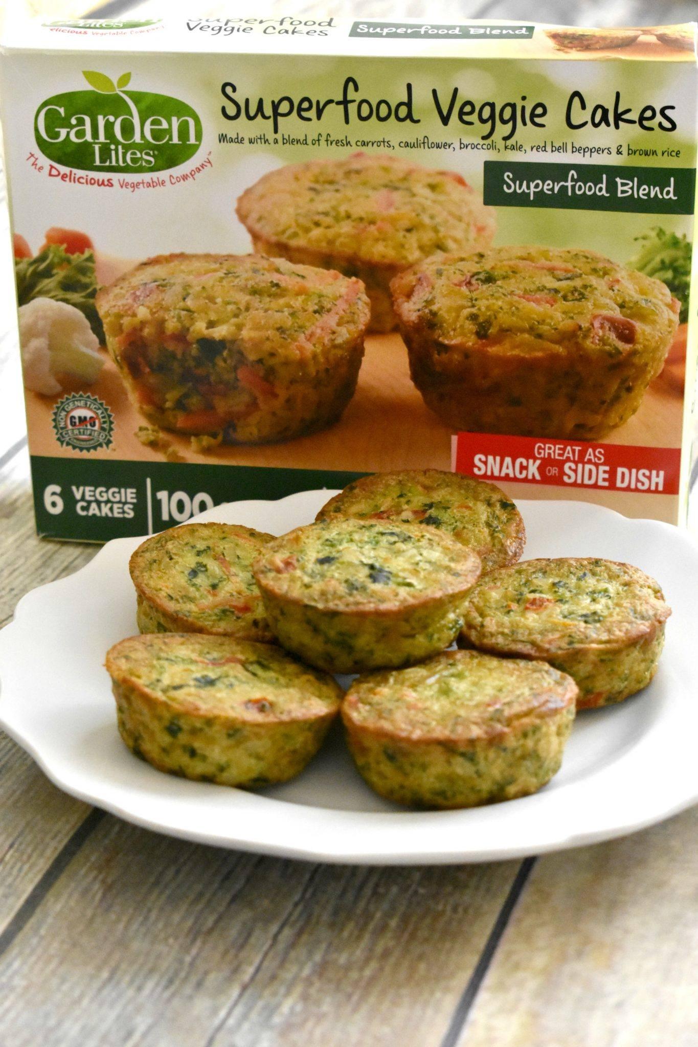 Garden Lites Super Food Veggie Cakes Review - Living Freely Gluten Free