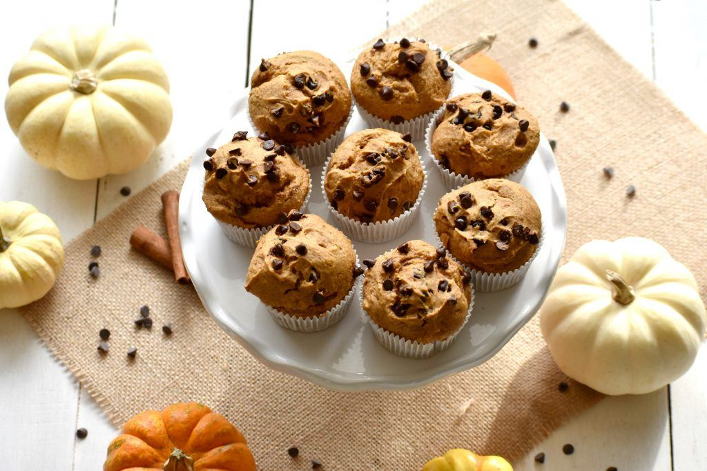 easy vegan pumpkin muffins