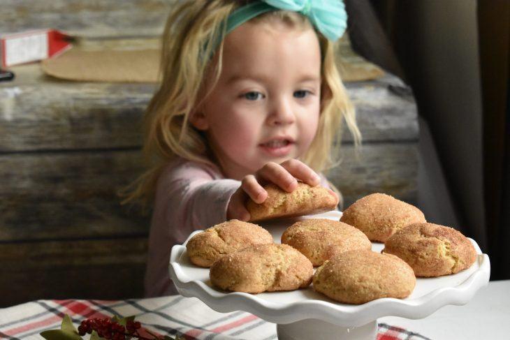 Grabbing cookies