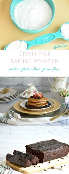 Grain Free Baking Powder