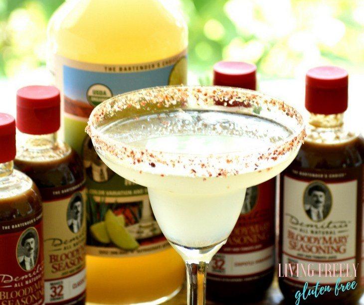 Gluten Free Sparkling Margarita