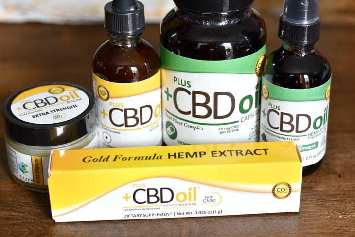 All of the Plus CBD Oil products