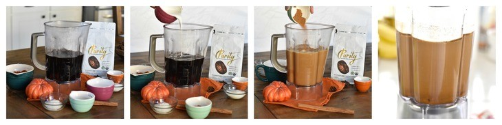 Process Shots Paleo Pumpkin Spice Latte