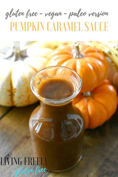 Vegan Pumpkin Caramel Sauce