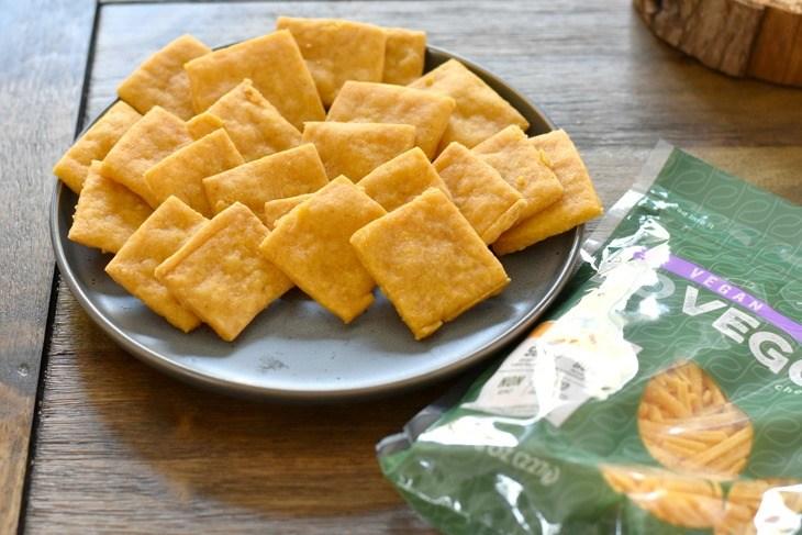 Gluten Free Vegan Cheez- It's