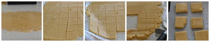 Gluten Free Vegan Cheez- It's Process Shots