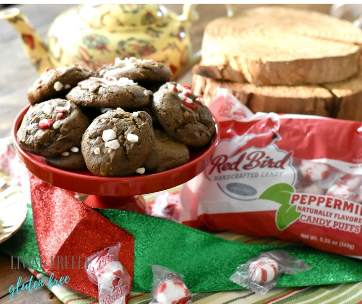Gluten Free Chocolate Peppermint Cookies Dairy Free