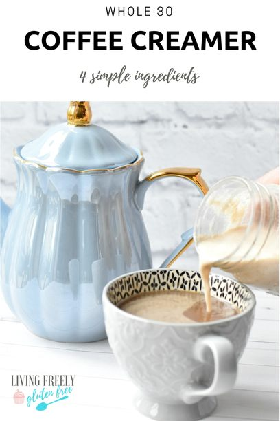 Whole 30 Coffee Creamer PIN image