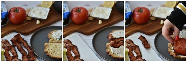 The Ultimate BLT Process Shots