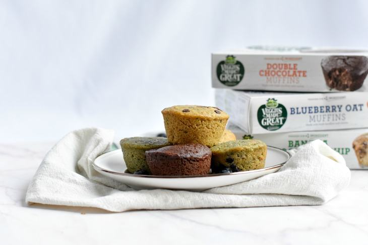 Garden lites muffins are perfect for traveling living - Garden lites blueberry oat muffins ...
