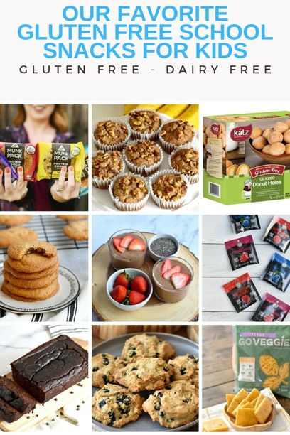 PIN for our favorite gluten free snacks for kids