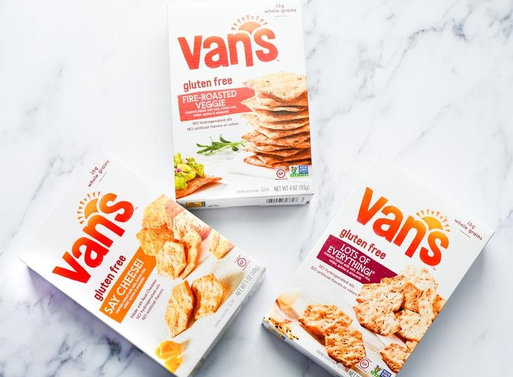 boxes of vans crackers